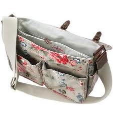 cath kidston, saddle bag, oilcloth bag, hospital bag