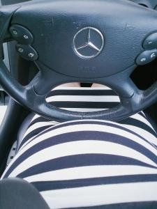 mercedes, clk, fiat500, car, pregnant